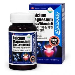 칼슘 마그네슘 아연 앤 비타민D (캐나다)