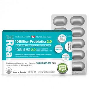 더 리얼 100억 유산균 프리바이오틱스2.0