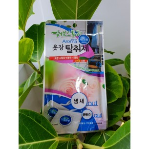 허브스토리 아로마 옷장탈취제                      (자스민, 후로랄,장미향)